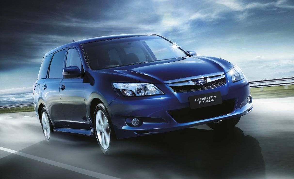 Subaru Liberty Exiga: seventh seat now standard - photos ...