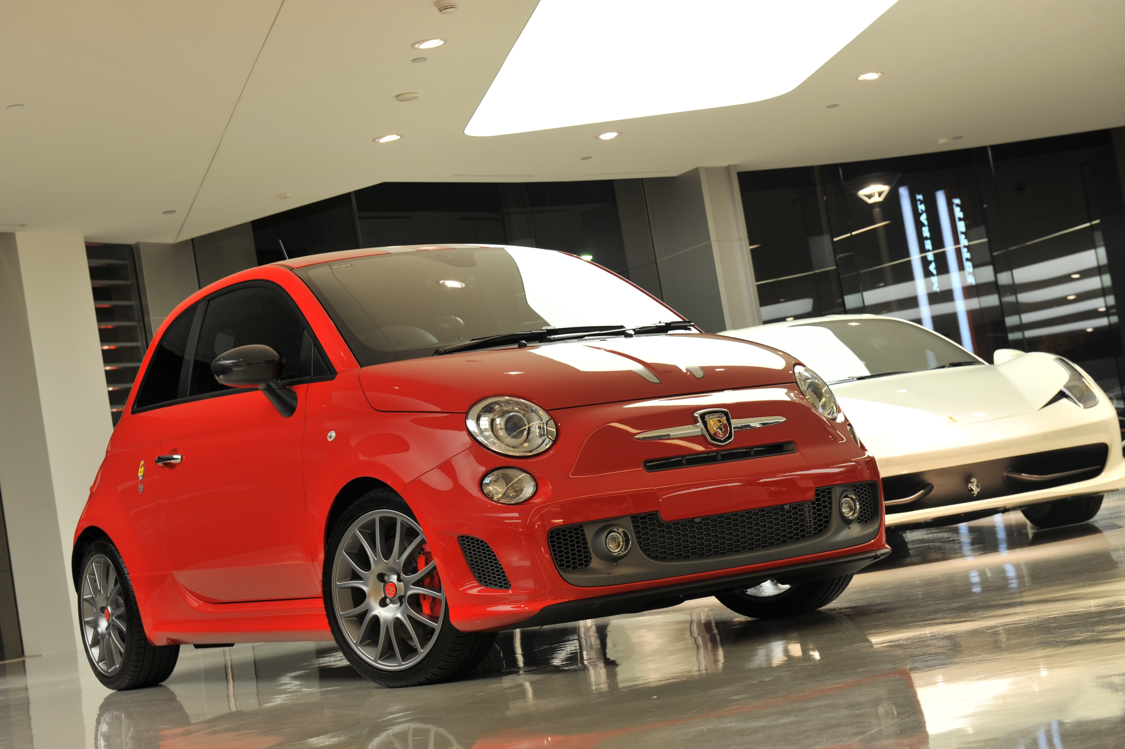 Fiat Abarth 695 Tributo Ferrari Review Caradvice