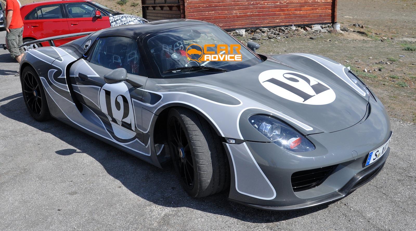 Porsche 918 Spyder Martini Racing Livery Unveiled