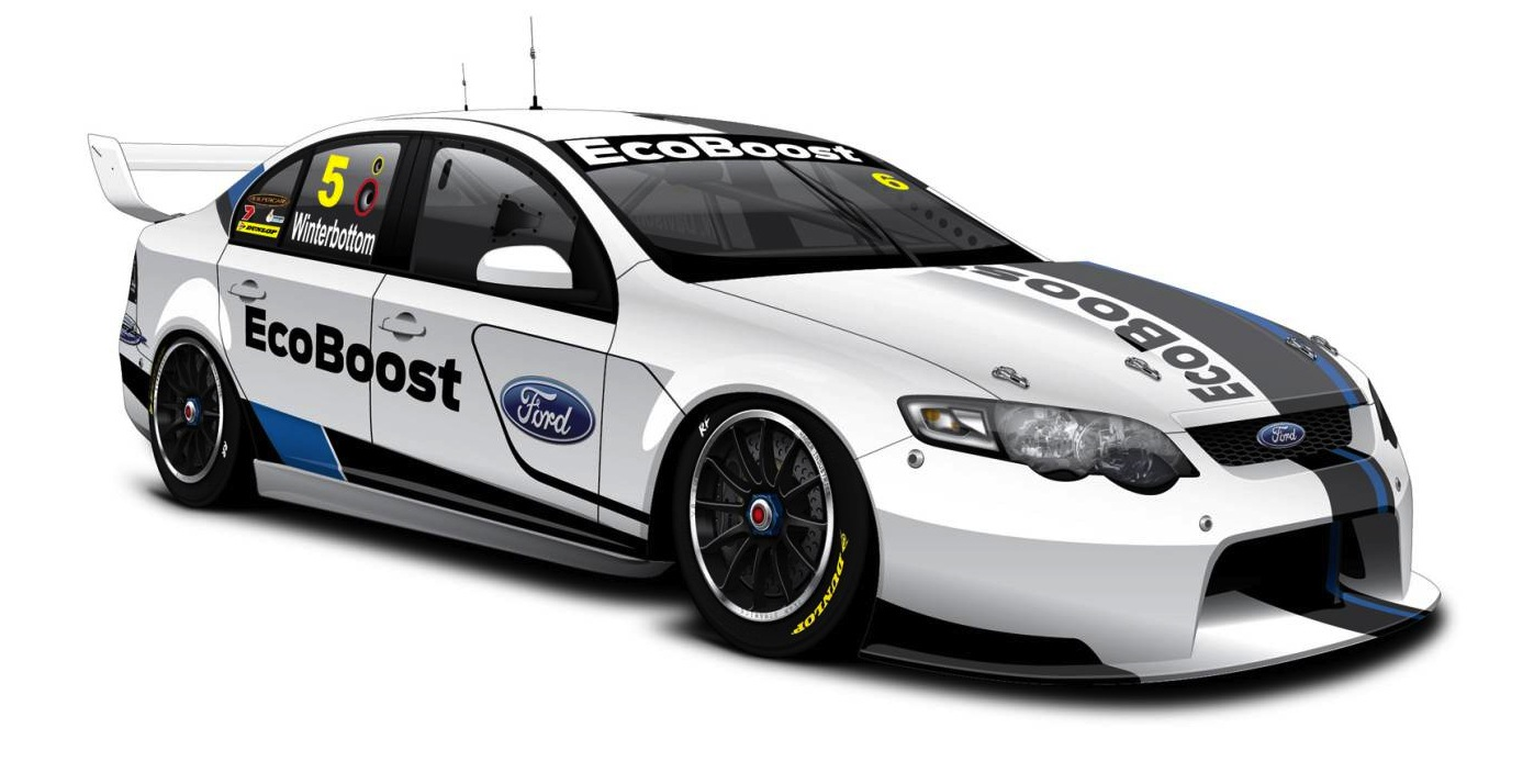 Fpr Ford Falcon V8 Supercars Car Of The Future Prototype