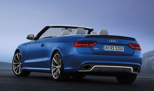 Audi Rs5 Cabriolet Official Images Of Roofless Bahn