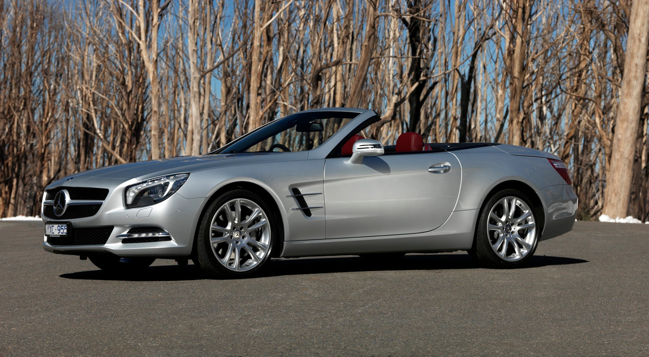 mercedes benz sl350 and sl500 review photos caradvice