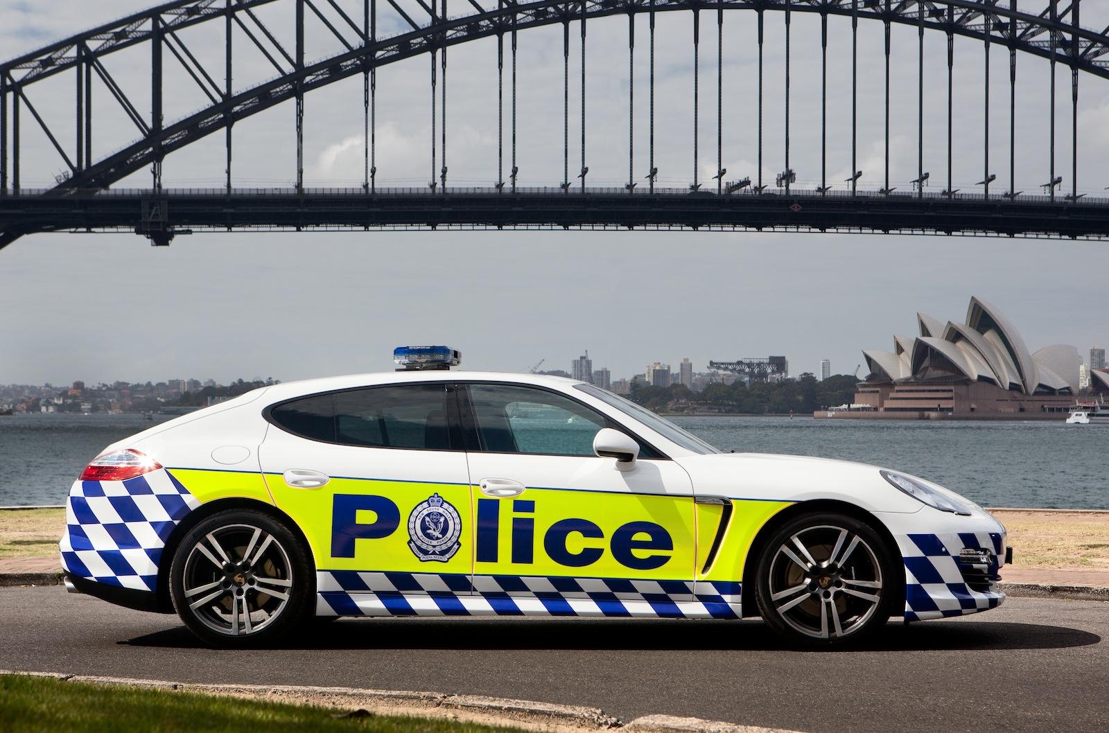 Porsche Panamera Joins Nsw Police Photos
