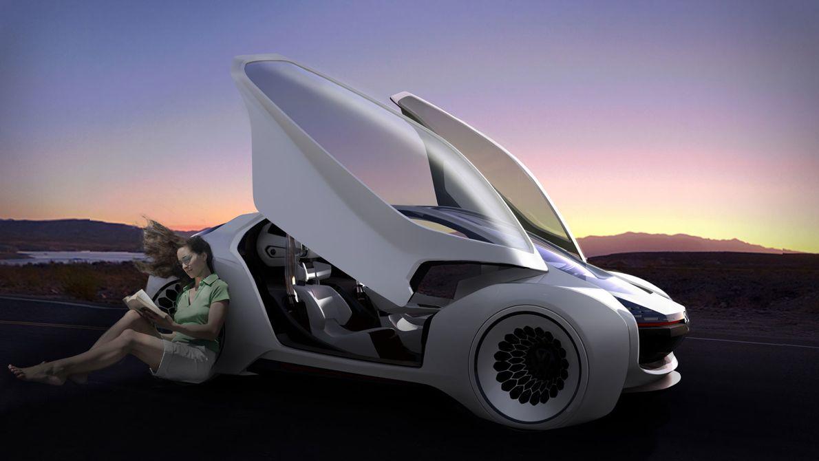 Volkswagen Trimaran Concept previews 2025 autonomous ...