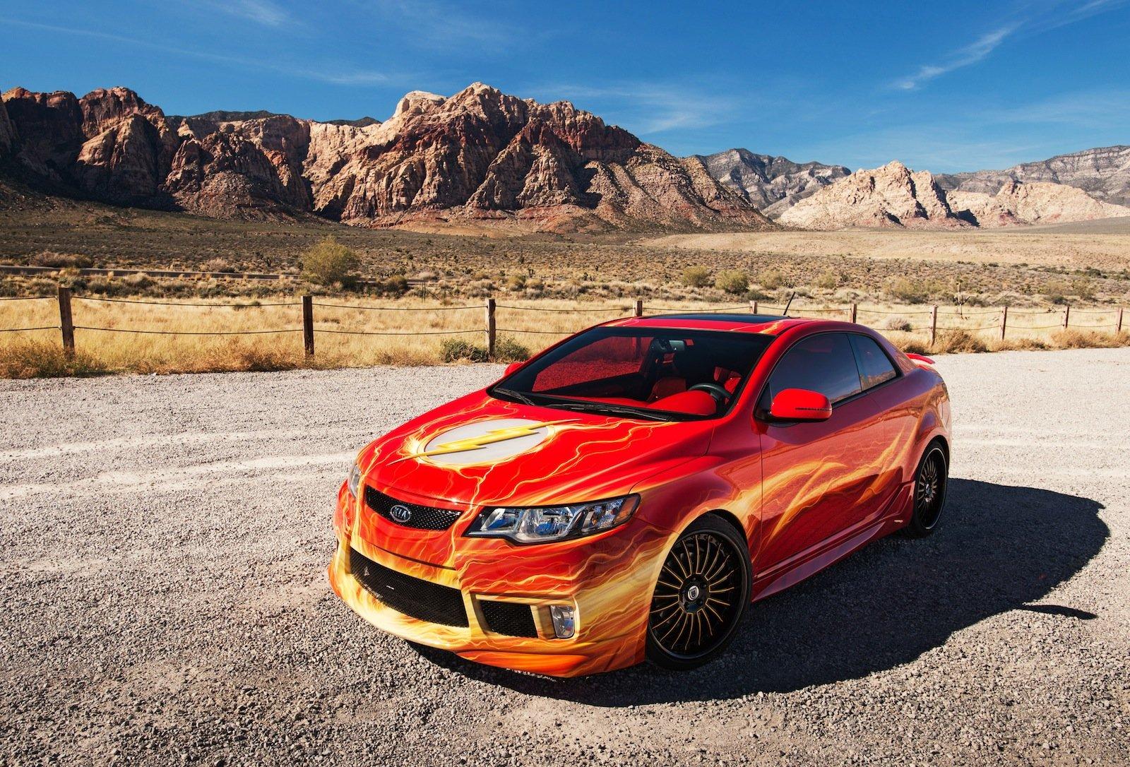 Kia Justice League Super Hero Cars Unveiled At 2012 SEMA