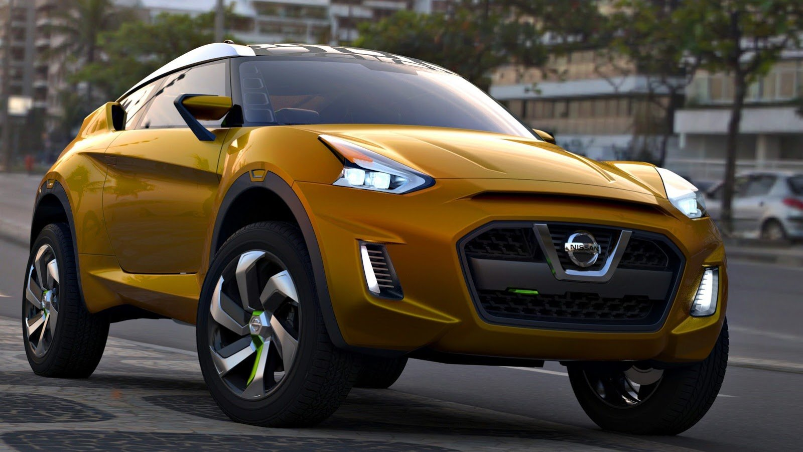 Nissan Extrem concept previews dramatic compact crossover ...