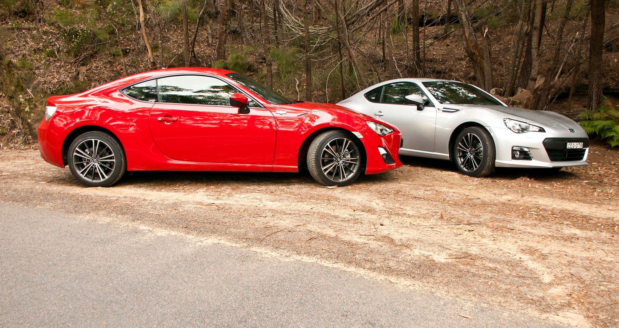 Toyota 86 Vs Subaru Brz Comparison Review Photos Caradvice
