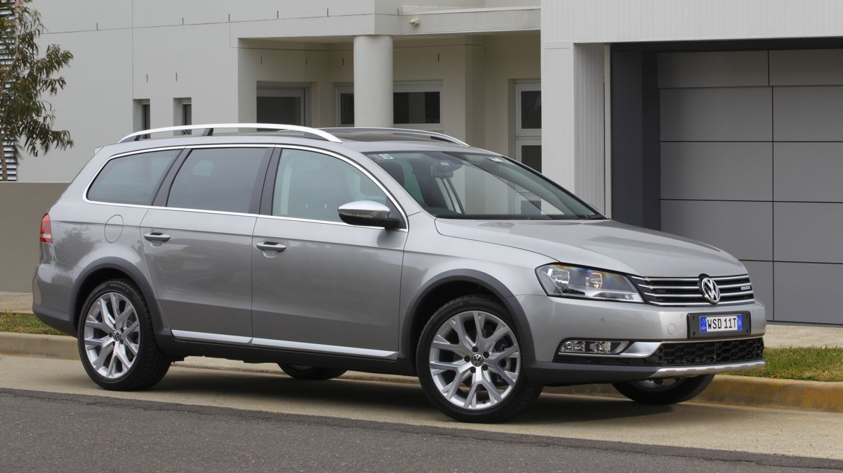 Volkswagen Passat Alltrack Review Photos Caradvice