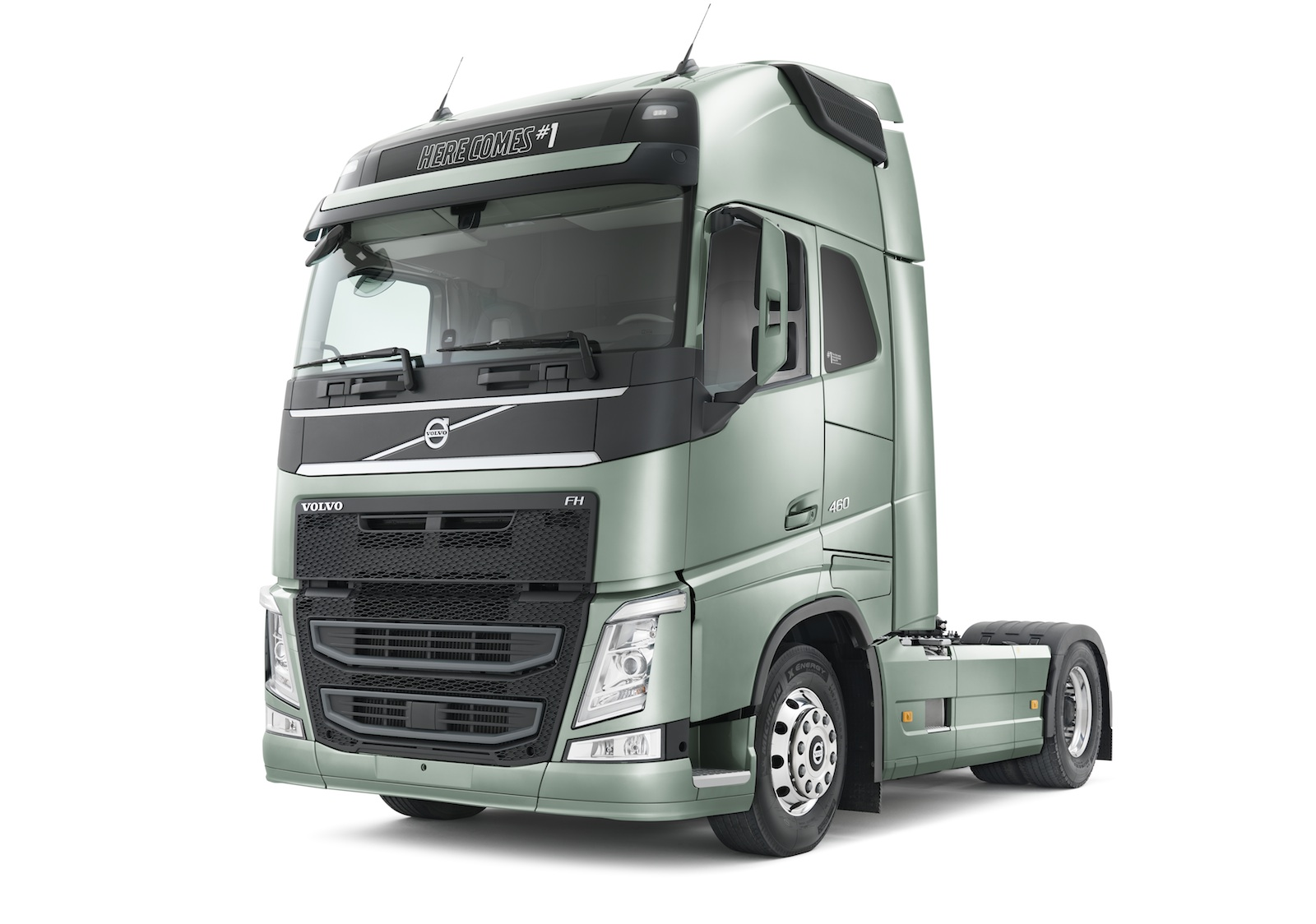 Volvo adds emergency braking technology to trucks - photos ...