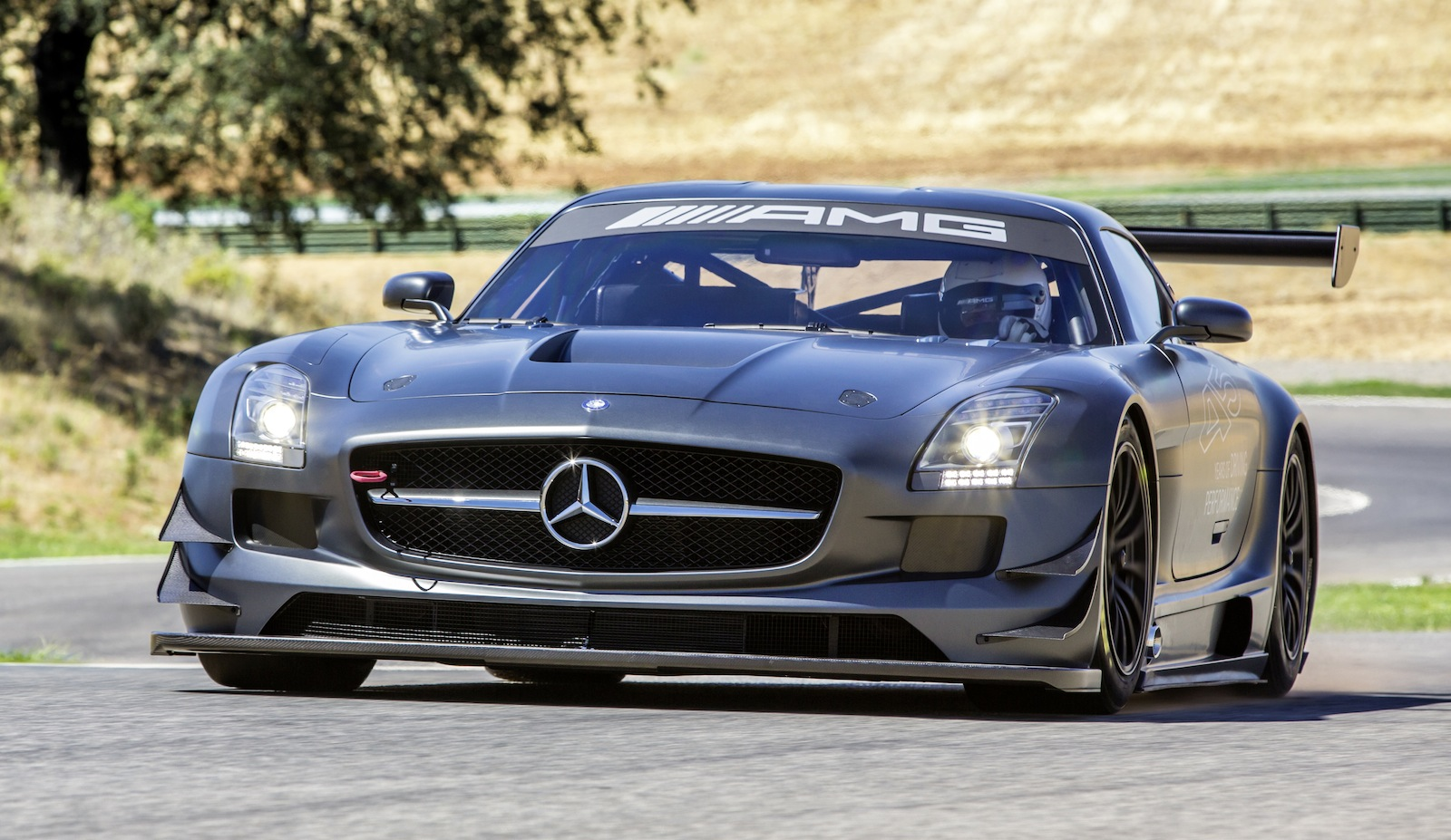 Mercedes Benz Sls Amg Gt3 45th Anniversary Edition Race