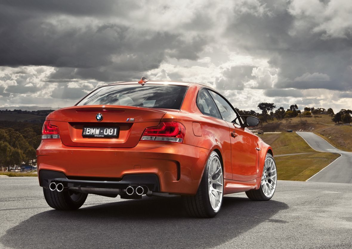 bmw 1m coupe production ends photos caradvice. Black Bedroom Furniture Sets. Home Design Ideas