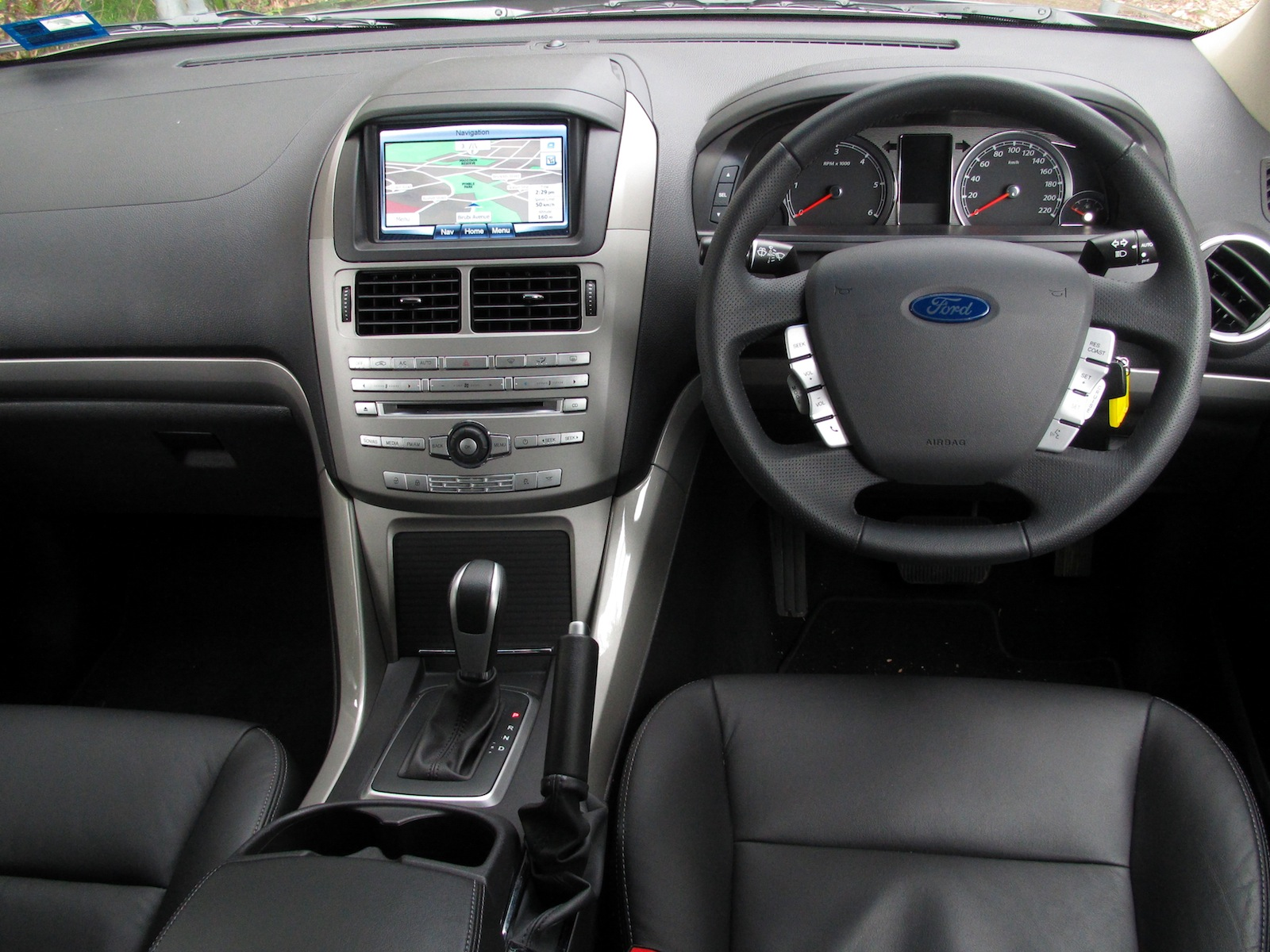 Interior: Ford Territory Review - Photos