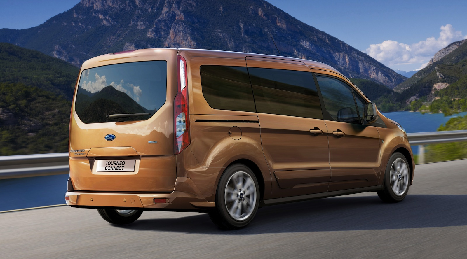 Ford Transit Connect Wagon All New Seven Seat Van Due In