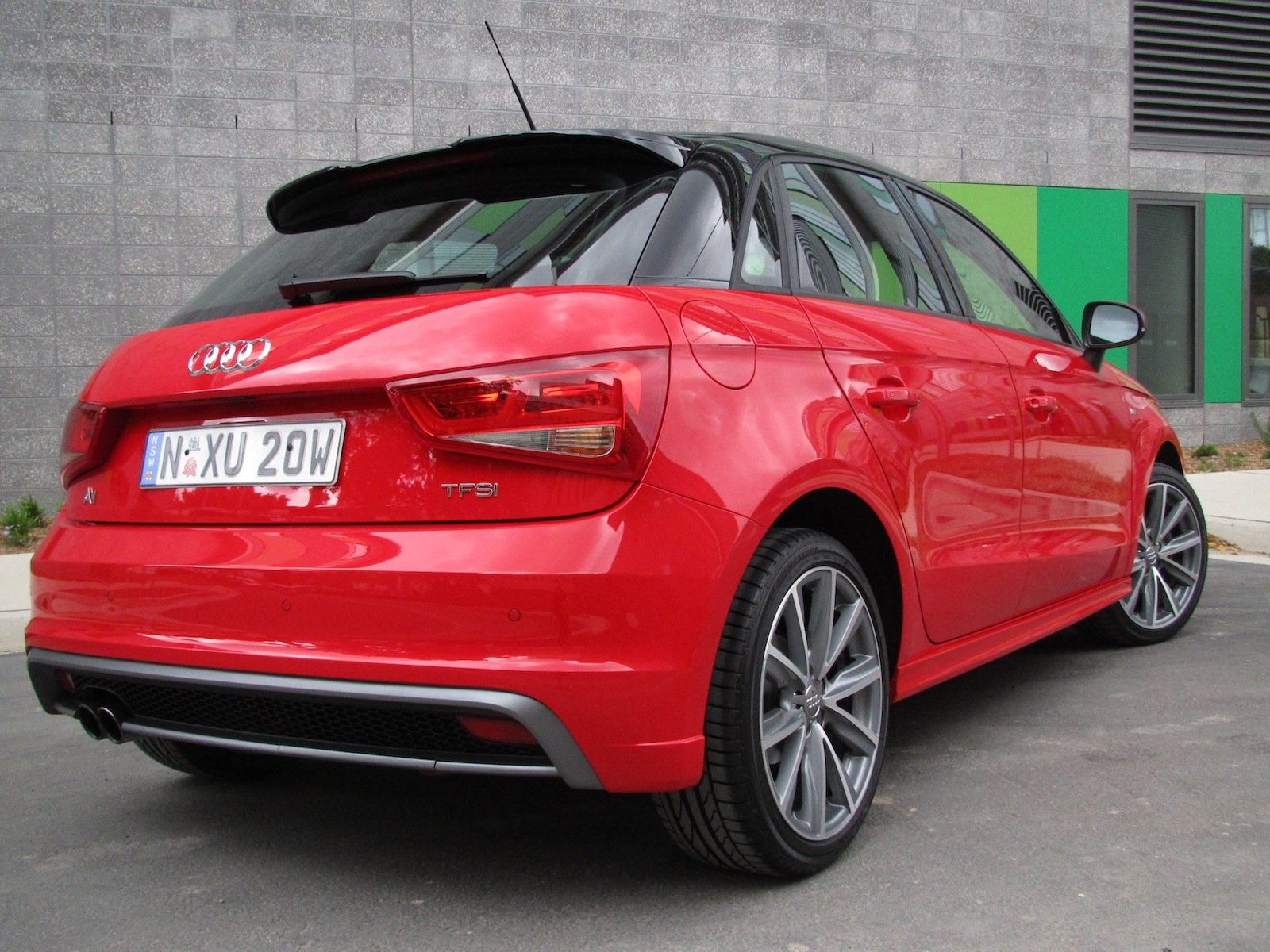Audi A1 Sportback 1 4 Tfsi Sport Review Photos Caradvice