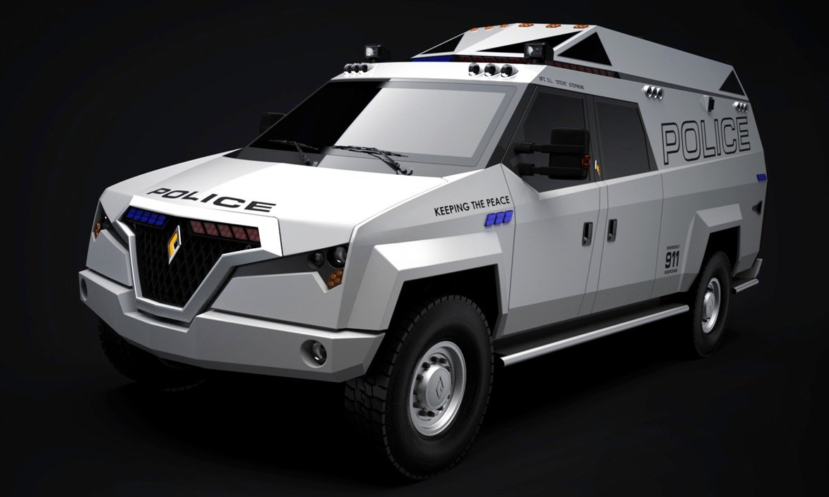 Carbon Motors Tx7 Police Truck Reporting For Duty In 2013