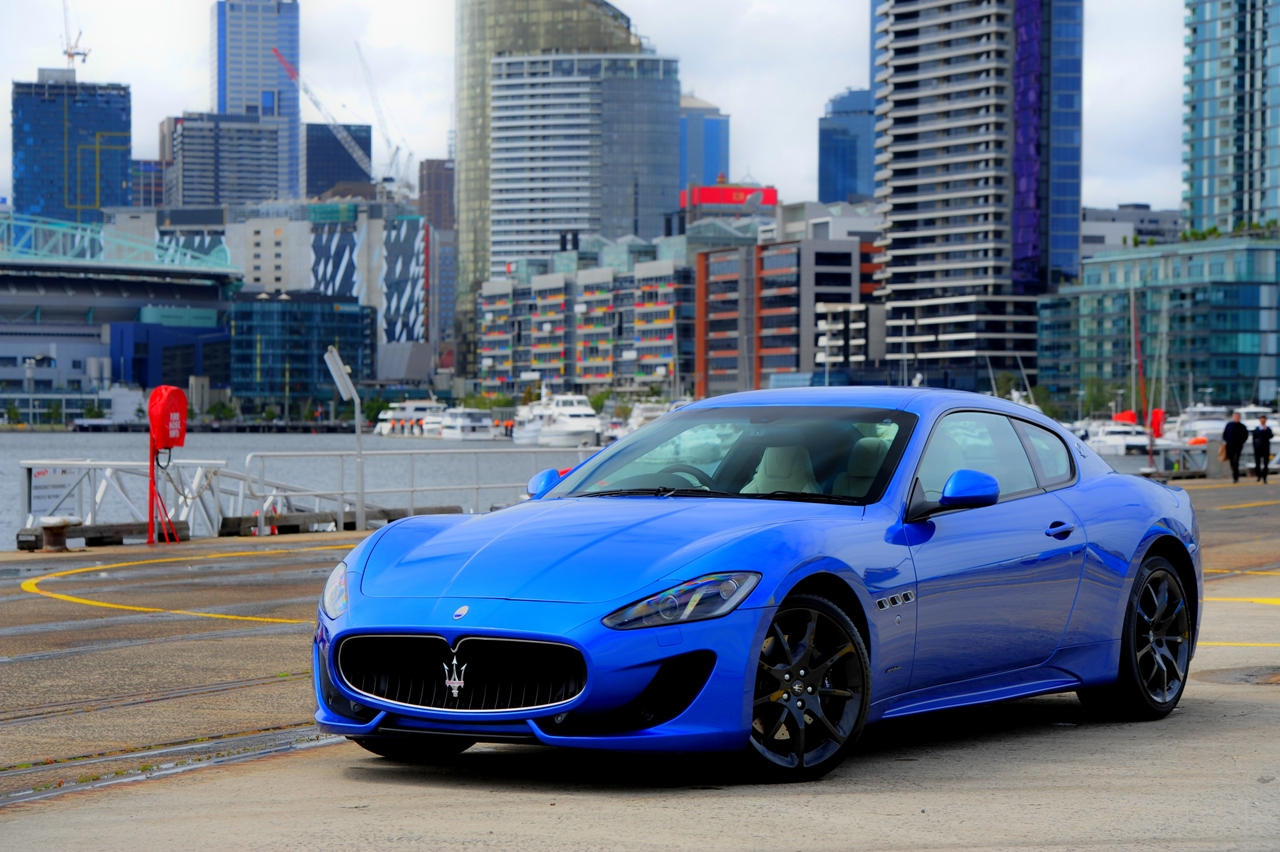 maserati granturismo sport review photos caradvice. Black Bedroom Furniture Sets. Home Design Ideas