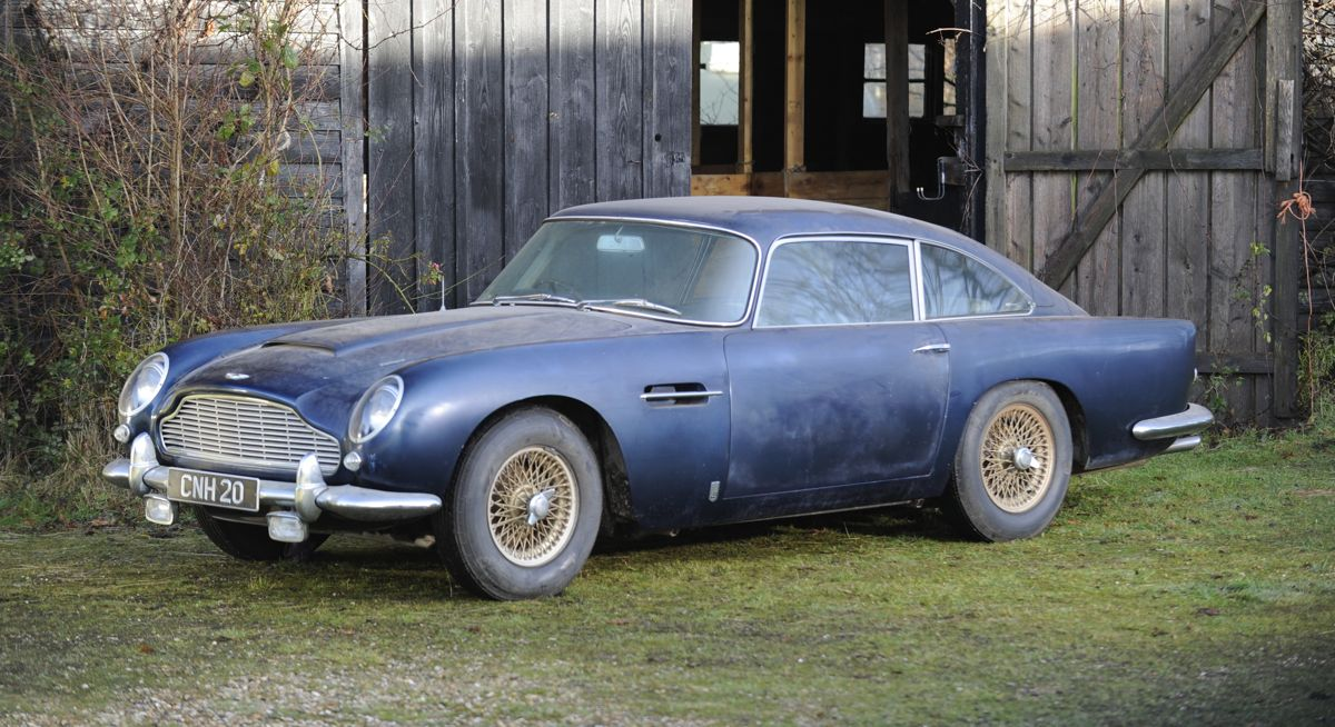 Aston Martin DB5 Barn Find Lost For 30 Years May Sell 300000