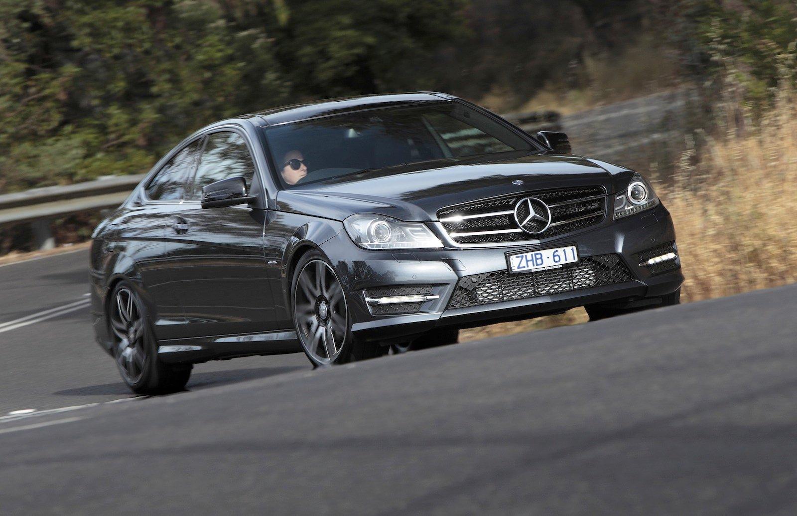 Mercedes Benz C250 Coupe Sport Review Photos Caradvice