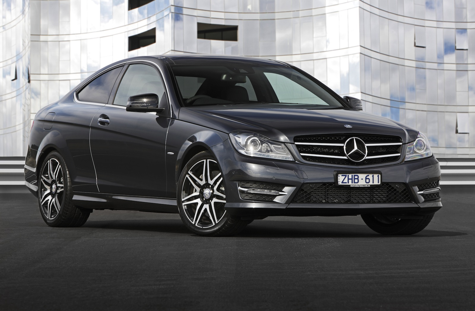 Mercedes Benz C250 Coupe Sport Review Photos Caradvice