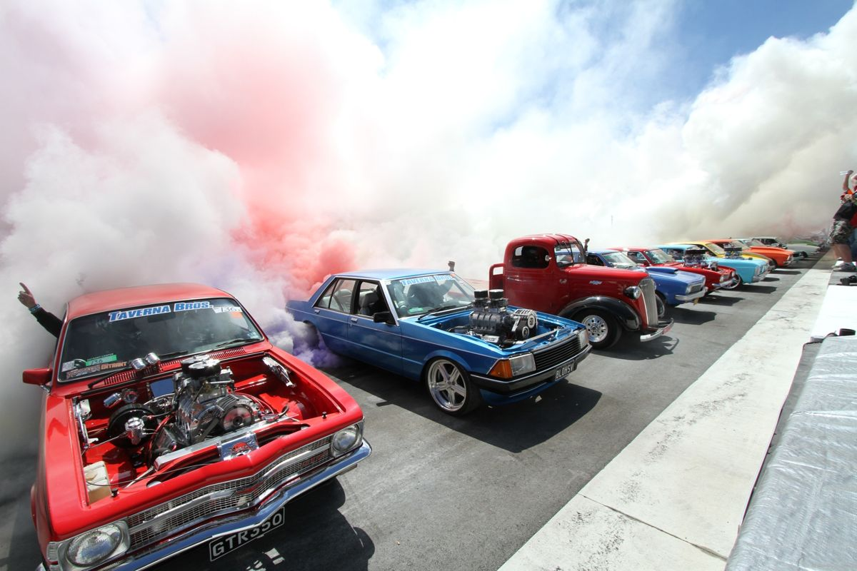 Summernats Fries 138 Tyres In Official Guinness World