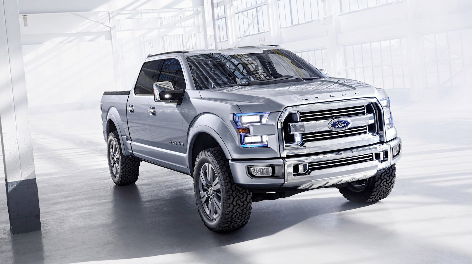 Ford atlas concept teases new f 150 photos caradvice for Garage toyota angers