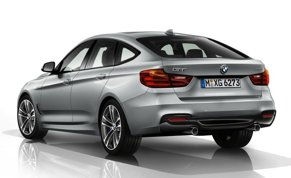Bmw 3 Series Gt Premium Mid Sized Hatch Revealed Photos