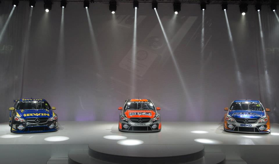 Mercedes Benz V8 Supercars Revealed By Erebus Motorsport