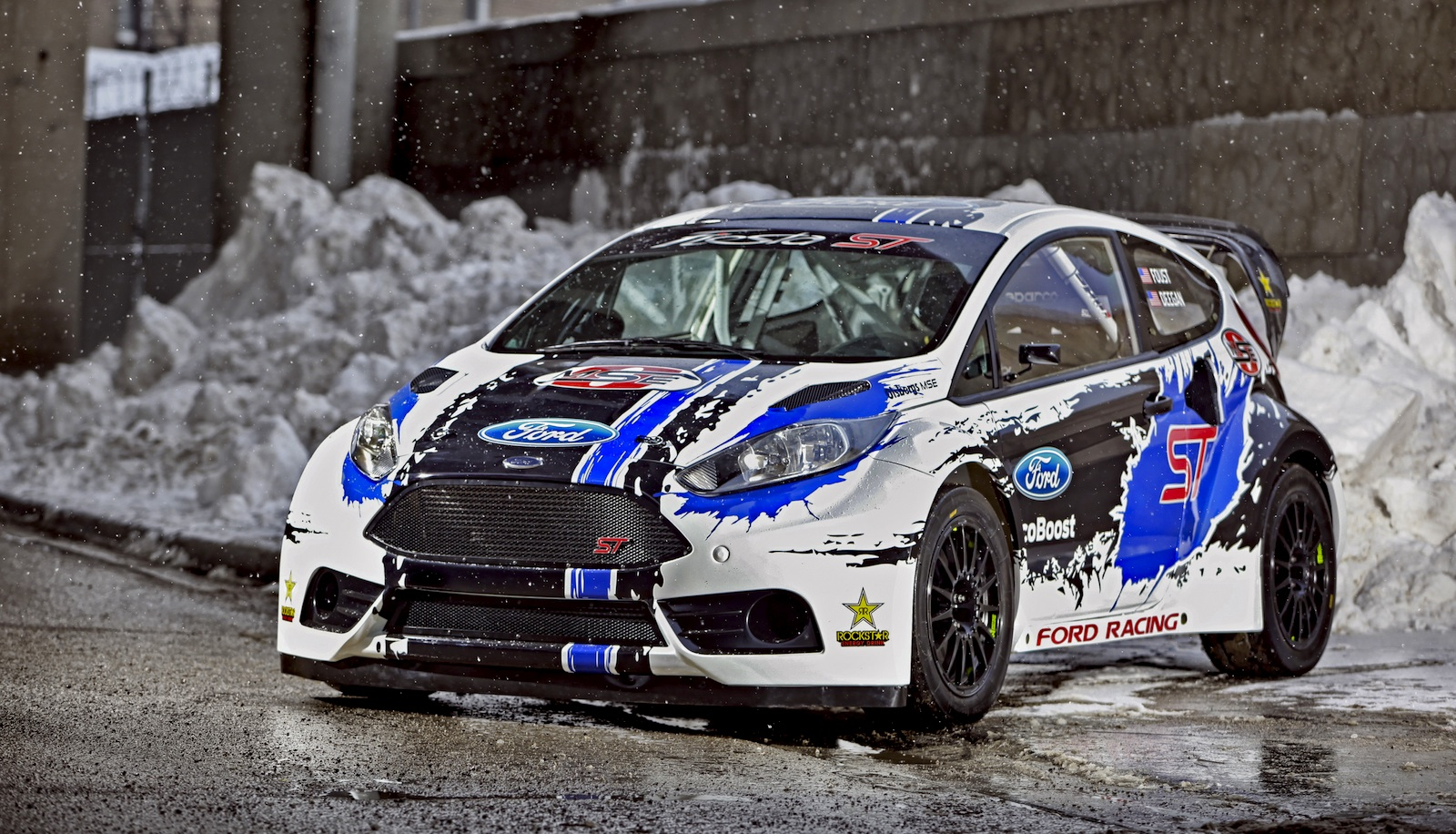 Ford Fiesta St Set To Attack Global Rallycross