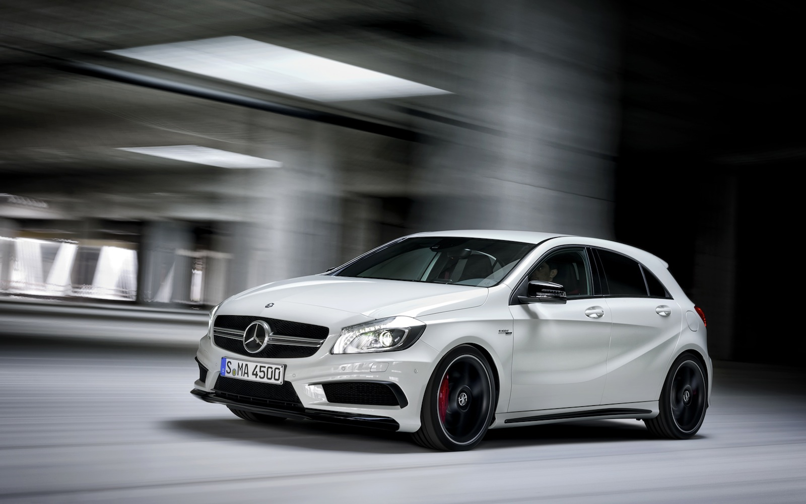 mercedes benz a45 amg 265kw hot hatch unleashed photos 1 of 16. Black Bedroom Furniture Sets. Home Design Ideas