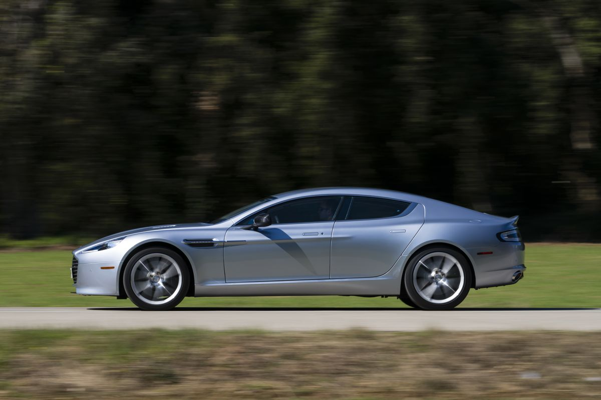 Aston Martin Rapide S Review - Photos