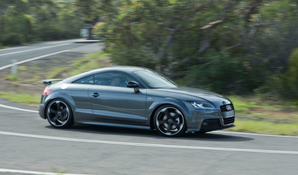 Audi Tt Coupe S Line Competition Package Adds Sports Flair