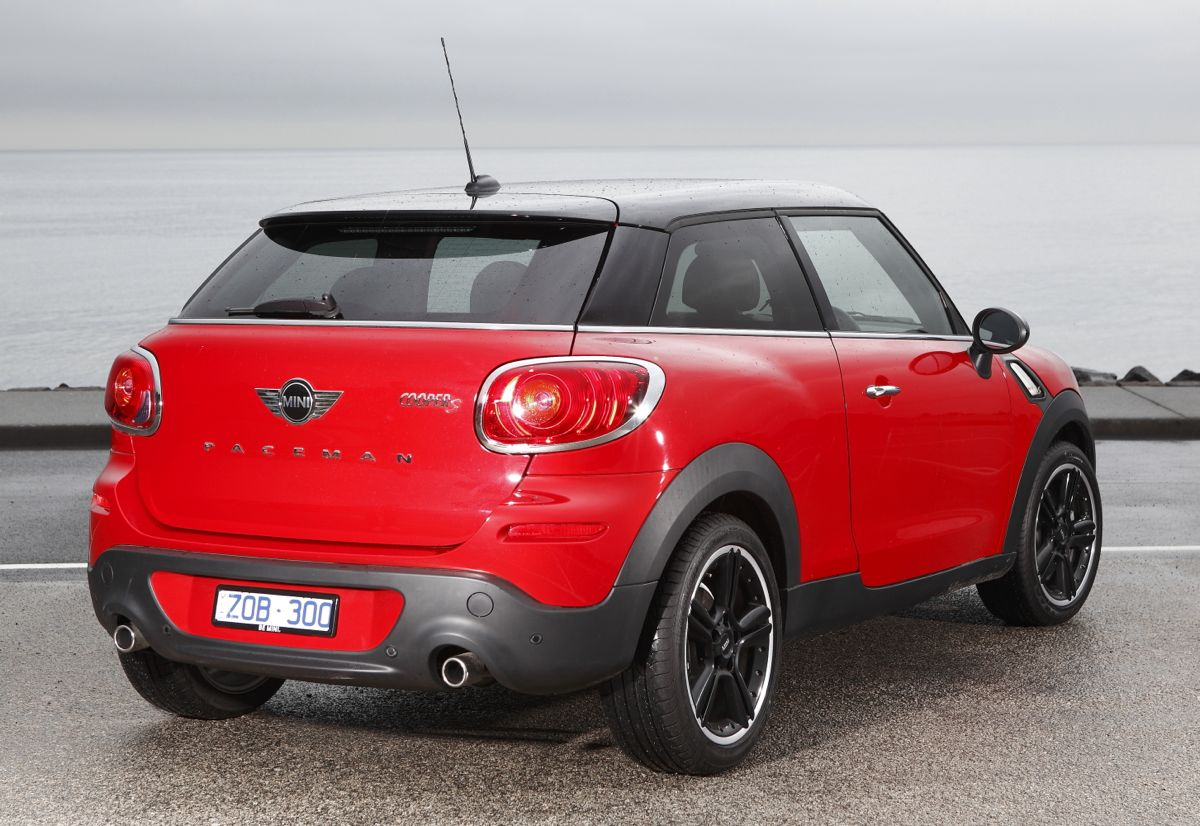 mini cooper paceman launches from 35 900 photos caradvice. Black Bedroom Furniture Sets. Home Design Ideas