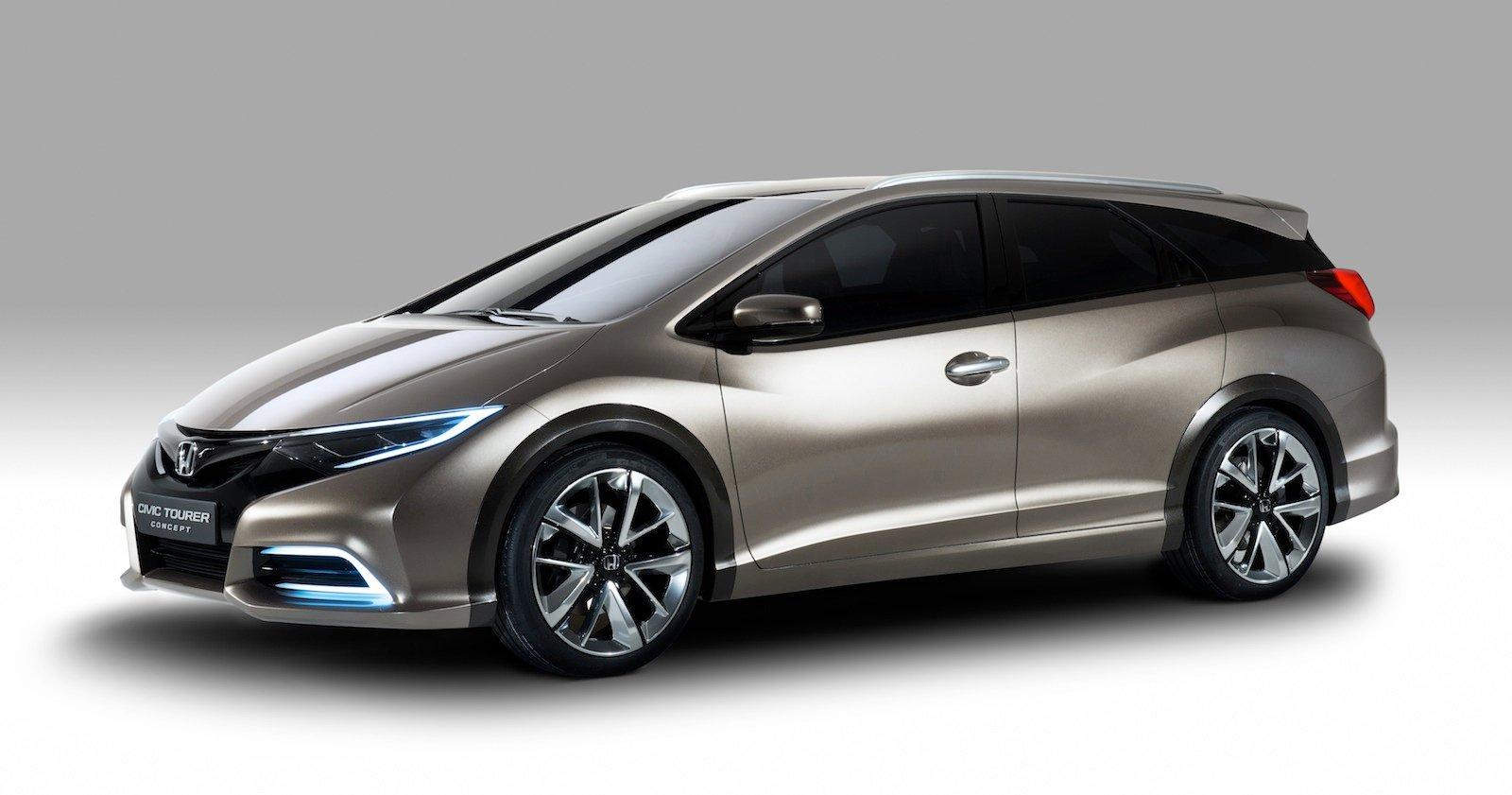 Honda Civic Tourer concept revealed - photos | CarAdvice