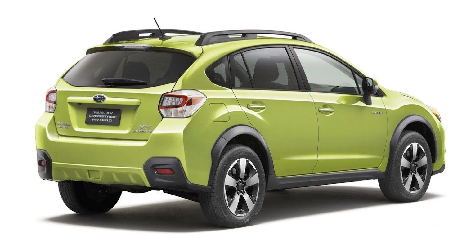Subaru Xv Hybrid Fuel Efficient Compact Crossover