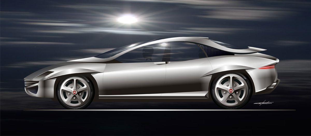 Fiat 130 Coupe re-imagined by original designer - photos ...
