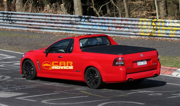 Holden Vf Commodore Ute Caught At The Nurburgring Photos Caradvice