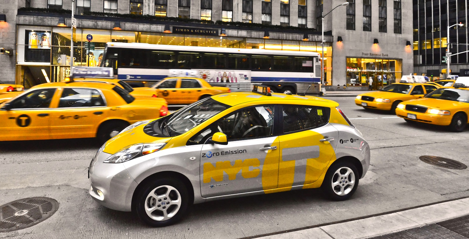 Nissan Leaf New York taxi pilot launched - photos | CarAdvice