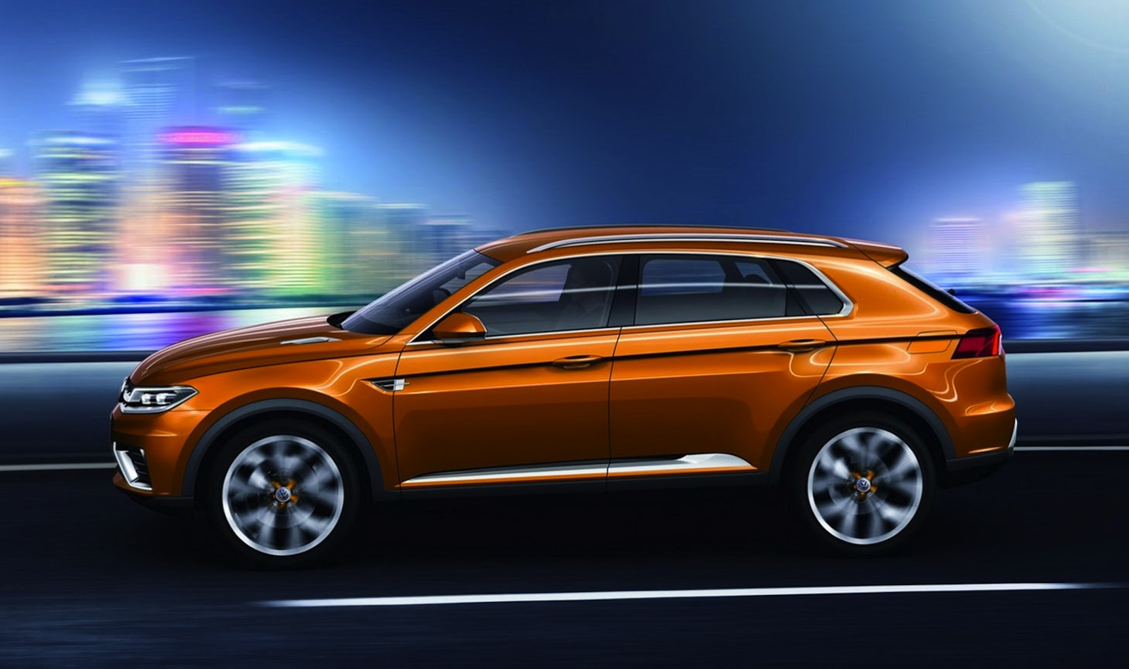 Volkswagen CrossBlue Coupe concept: compact SUV leaked ...