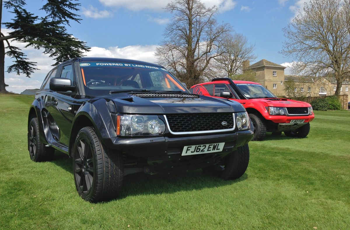 bowler exr  range rover based rally car set   road  caradvice
