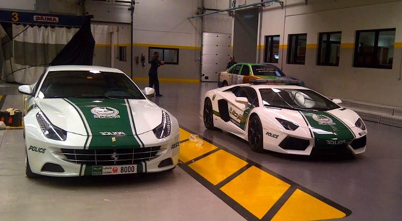Chevrolet Camaro SS Joins Euro Supercars On Dubai Police