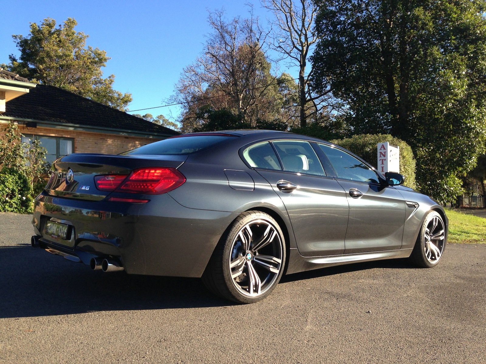 bmw m6 gran coupe review photos caradvice. Black Bedroom Furniture Sets. Home Design Ideas