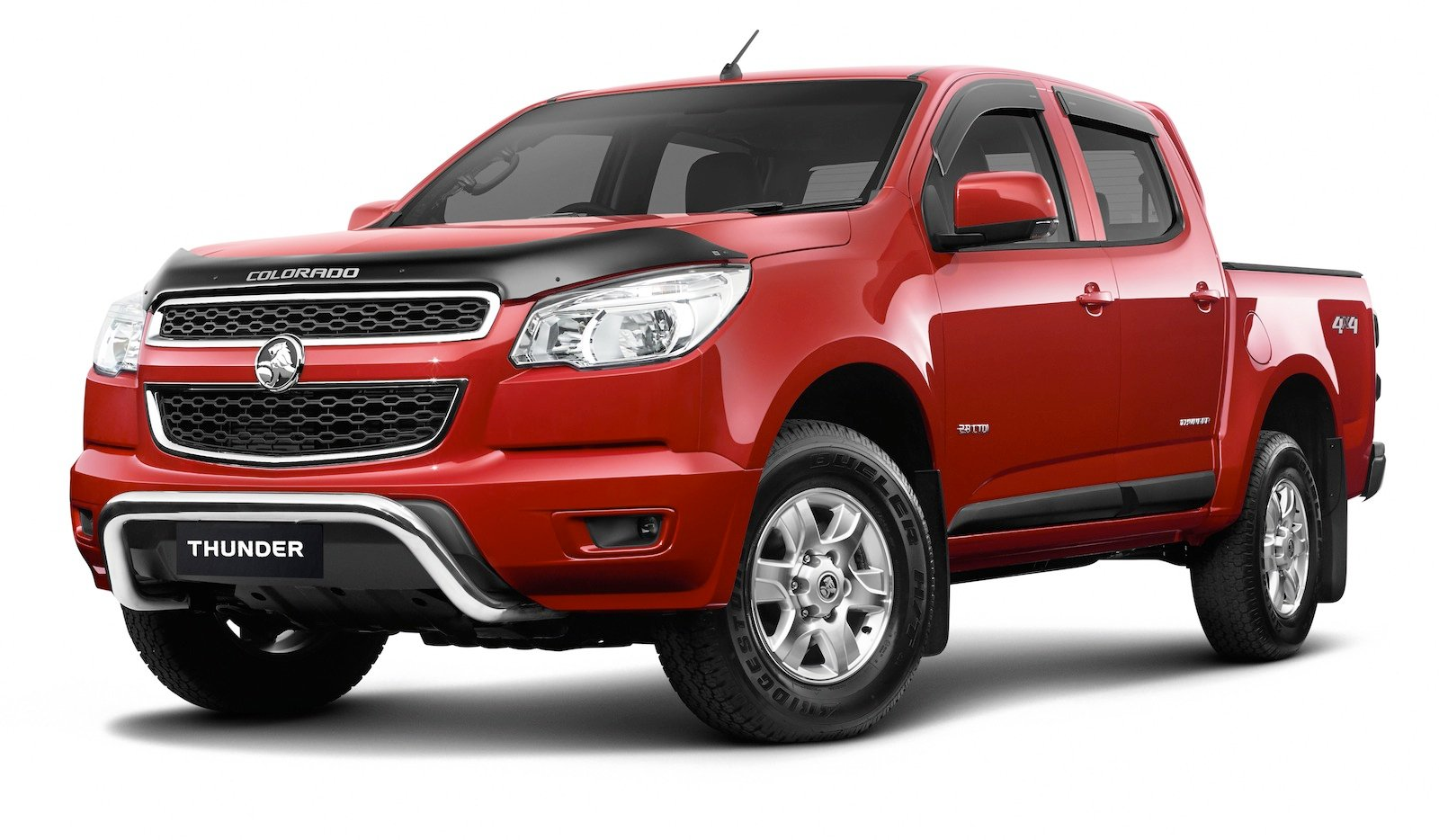 Holden Colorado Thunder: special edition utes released ...