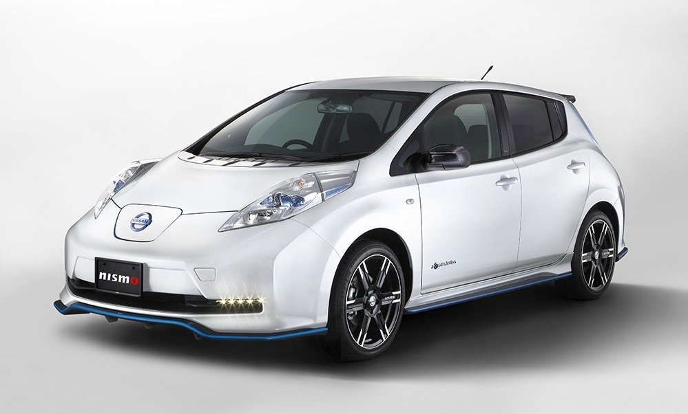 nissan leaf nismo performance package released in japan photos caradvice. Black Bedroom Furniture Sets. Home Design Ideas