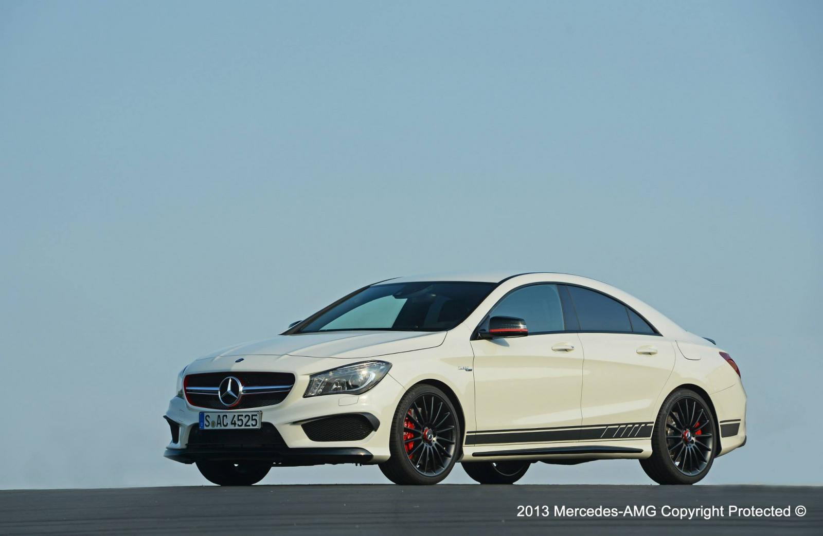 mercedes benz cla amg edition  performance pack