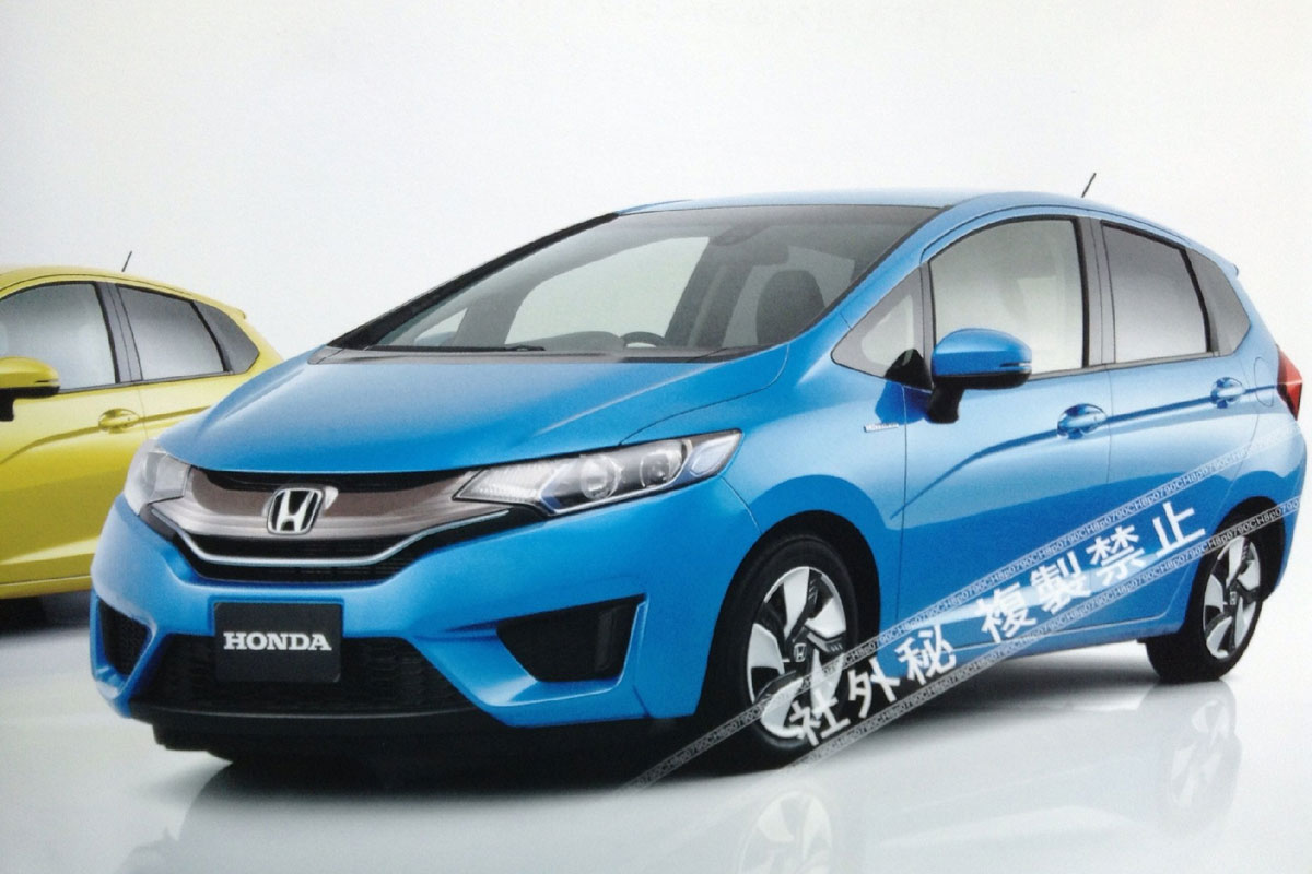honda jazz larger next gen city car leaked photos. Black Bedroom Furniture Sets. Home Design Ideas