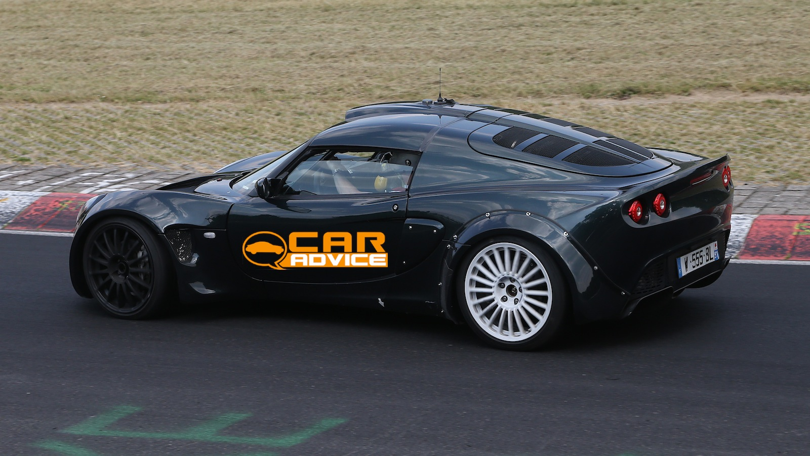 Renault Alpine Caterham Sports Car Mule Spied Testing At