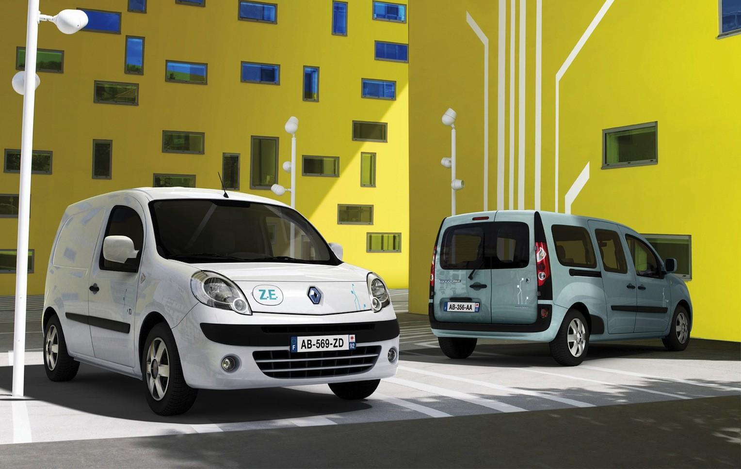 Renault Kangoo ZE electric van coming to Oz - Photos (1 of 3)