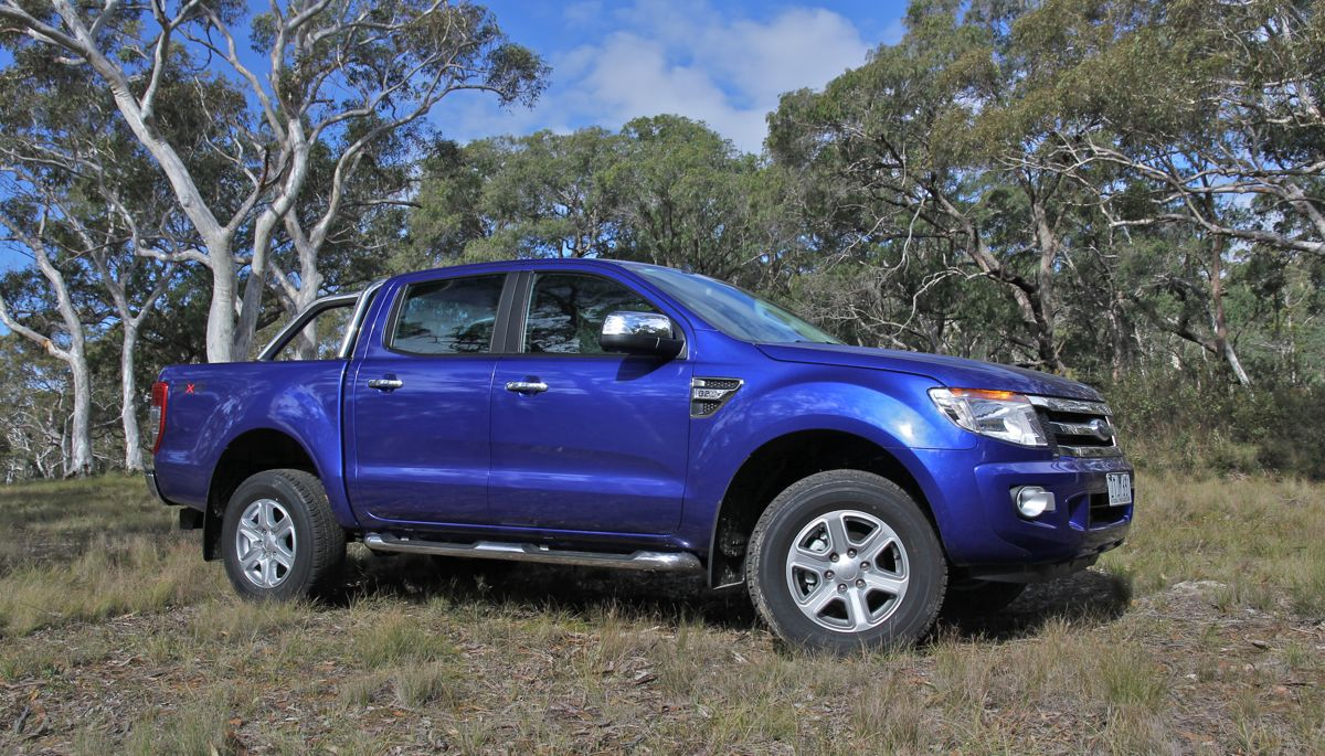 ford ranger review xlt dual cab 4x4 photos caradvice. Black Bedroom Furniture Sets. Home Design Ideas
