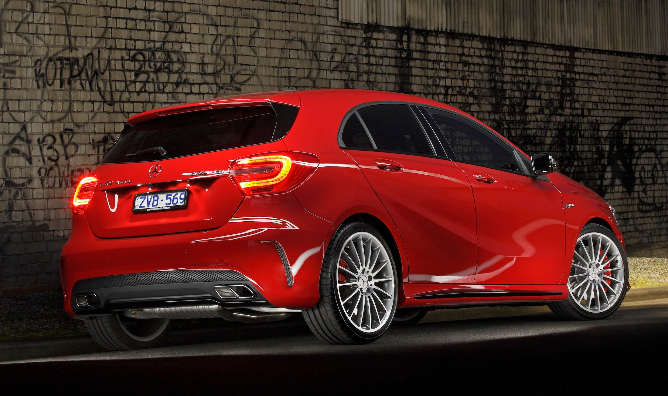 Mercedes benz a45 amg review caradvice for Mercedes benz mercedes benz mercedes benz