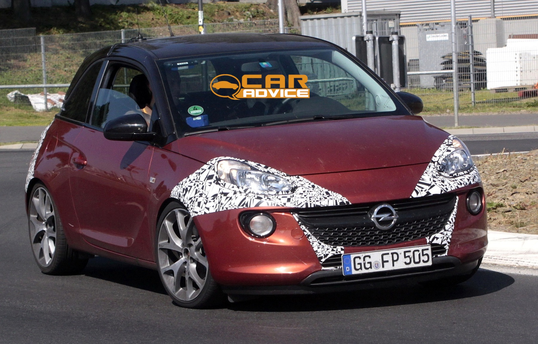 Opel Adam OPC: potential performance mini spied - photos | CarAdvice